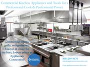 COMMERCIAL APPLIANCES   Appliances Connection