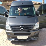 2013 Mercedes-Benz Sprinter 2 dr cab,  slider on side,  2 doors back for