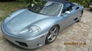 2001 Ferrari 360 18850 miles
